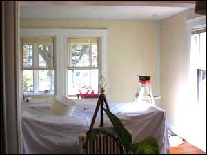 preparing your room for residential painting designer walls. Black Bedroom Furniture Sets. Home Design Ideas